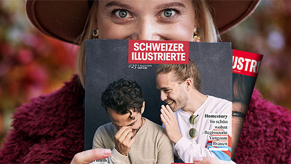 Schweizer Illustrierte und L'llustré erscheinen ab November einheitlicher, moderner und jünger!