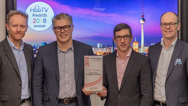 Admeira remporte le HbbTV Award